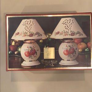 Lenox tea light lamps